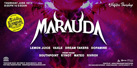 MARAUDA @ Treehouse Miami tickets
