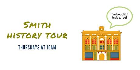 Smith History Tour: Thursday, July 15, 2021 tickets