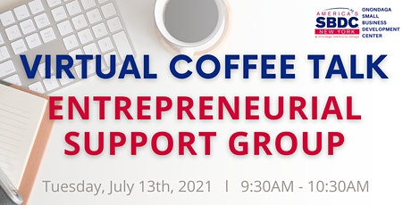 July SBDC Virtual Coffee Talk tickets