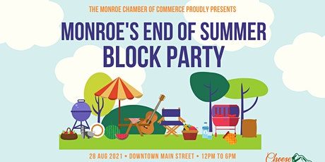 Monroe Block Party tickets