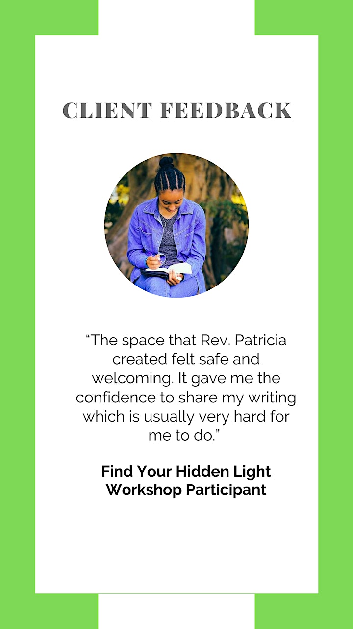 Find Your Hidden Light:  8-Week Creative Writing Circle for BIPOC Women image