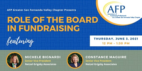 Role of the Board in Fundraising tickets