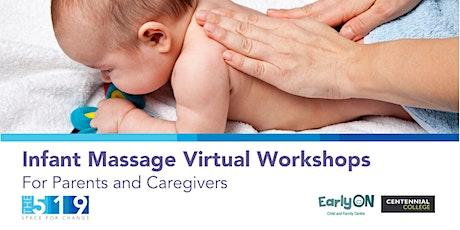 Infant Massage Virtual Workshops tickets