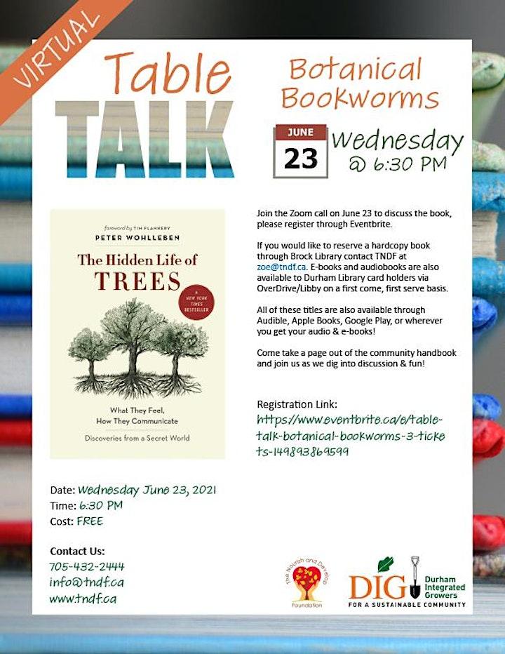 Table Talk: Botanical Bookworms #3 image