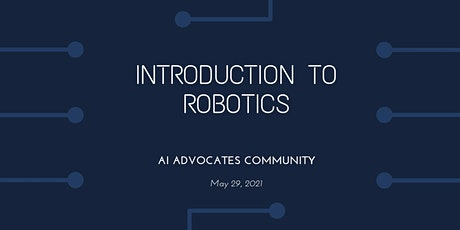 Introduction to Robotics tickets
