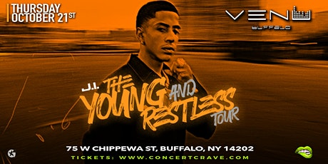 """J.I. """"Young and Restless Tour"""" - Buffalo, NY tickets"""
