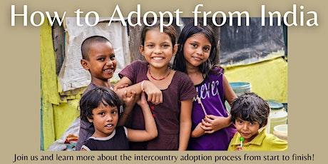 India Adoption Program Information Session via Zoom tickets