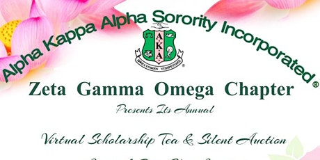Zeta Gamma Omega Chapter Virtual Scholarship Tea & Silent Auction tickets