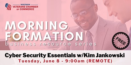 Morning Formation -- Cyber Security Essentials tickets