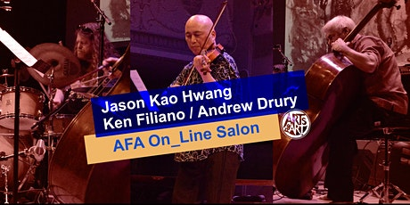 Jason Kao Hwang Human Rites Trio  |  AFA On_Line Salon tickets