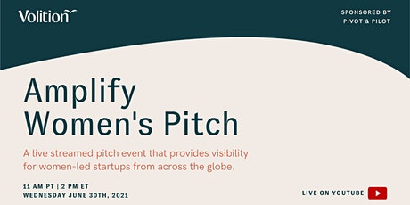 Amplify Women's Pitch | June 30th tickets