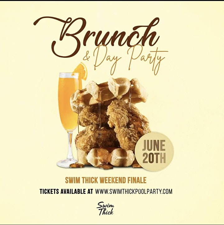 Swim Thick Brunch & Day Party: June Edition! image