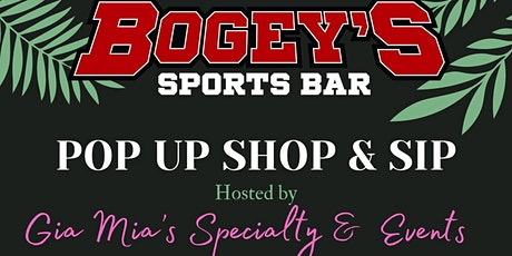 Pop-Up Shop & Sip tickets