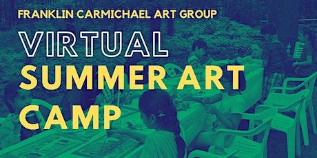 Virtual Summer Art Camp (July 12-16) tickets