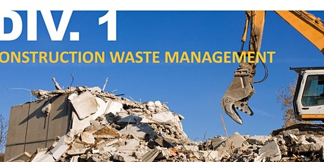 Green Specs Division 1: Construction Waste Management-Reducing Waste tickets