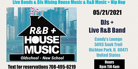 Oldschool Vs New School House, RNB Band, Hip Hop DJs tickets