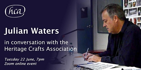 Julian Waters in conversation with the Heritage Crafts Association tickets