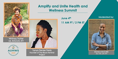 Amplify and Unite Health and Wellness Summit tickets