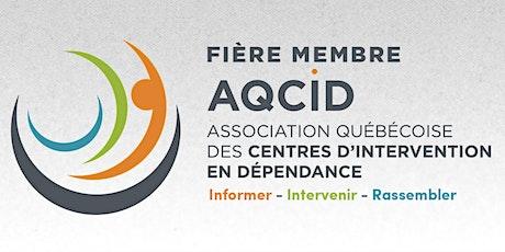 ASSEMBLÉE GÉNÉRALE ANNUELLE DE L'AQCID - 21 juin 2021 billets