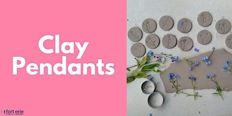 Tween/Teen Craft Kit - Clay Pendants tickets