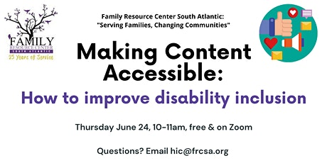 Making Content Accessible: How to improve disability inclusion tickets