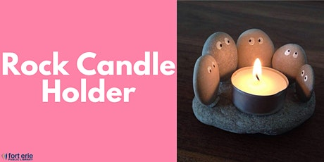 Tween/Teen Craft Kit - Rock Candle Holder tickets