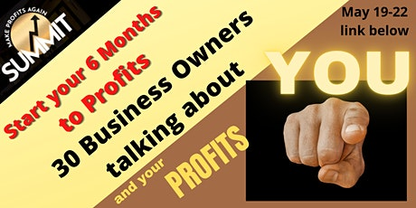 Transform Your Business Into A Profit Generating Machine in 6 months! tickets