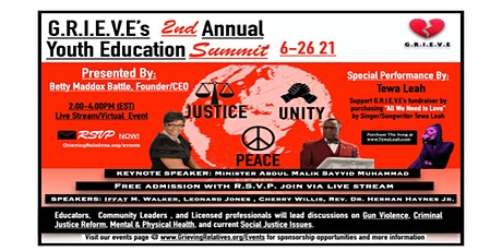 2021 Youth Education Summit tickets