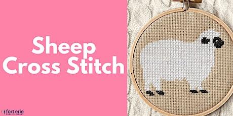 Tween/Teen  Craft Kit - Sheep Cross Stitch tickets