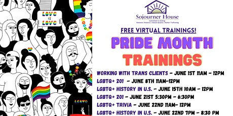 Sojourner House  Pride Month Events tickets