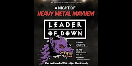Heavy Metal Mayhem, Town Hall, Saffron Walden, Essex tickets