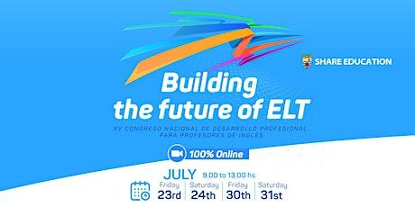 """2021- SHARE CONVENTION  - """"Building the future of ELT"""" entradas"""
