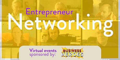 (ONLINE) Entrepreneur Networking tickets
