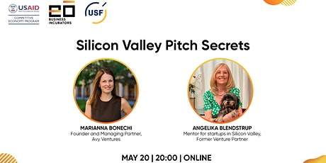Silicon Valley Pitch Secrets tickets