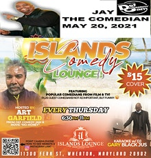 ISLANDS COMEDY LOUNGE tickets