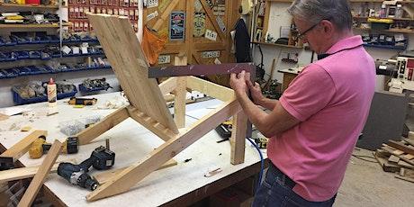 Make a wooden deckchair, 4 hour class, £85 tickets