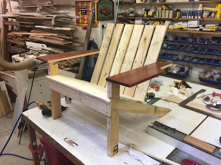 Make a wooden deckchair, 4 hour class, £85 image