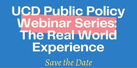 The Real World experience: Policy & the Private Sector tickets