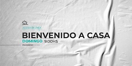 CULTO PRESENCIAL 16 DE MAYO entradas