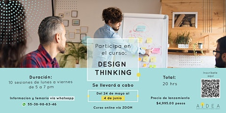 Curso: Design Thinking aplicado a los negocios boletos