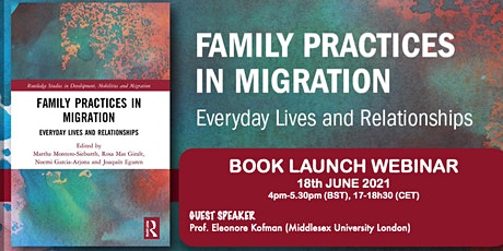 BOOK LAUNCH of Family Practices in Migration tickets