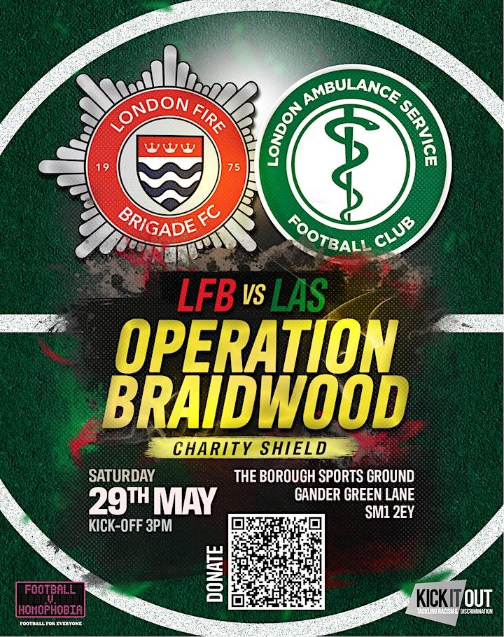 Operation Braidwood Charity Shield image