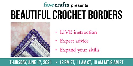 Beautiful Crochet Borders tickets