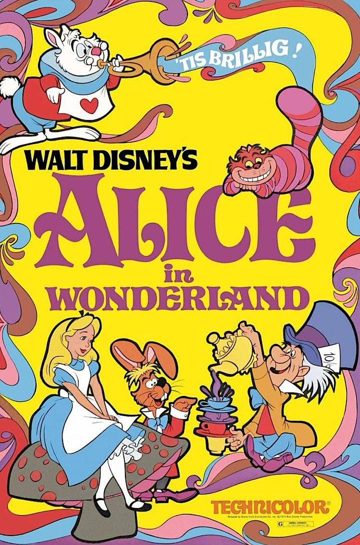 Movie Nights at the Garden: Alice in Wonderland image