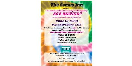 80's Rewind Dinner Theatre tickets