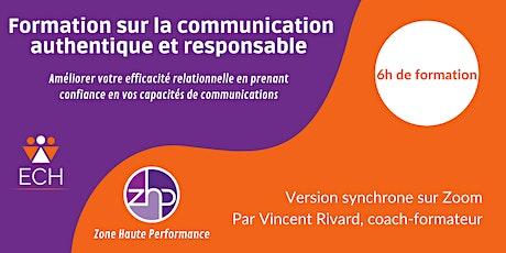 Formation sur la communication authentique et responsable billets