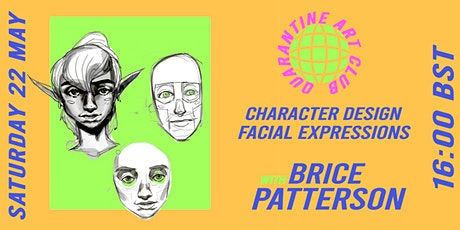 """""""Getting into the expressiveness""""  Character design: Facial Expressions"""" tickets"""