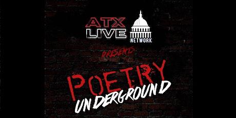 Poetry Underground tickets