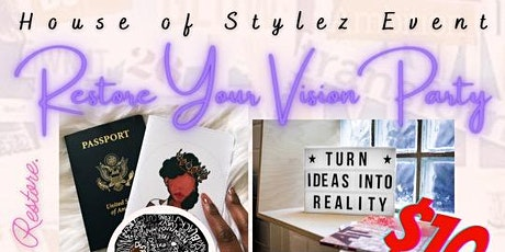 Restore Your Vision Party tickets