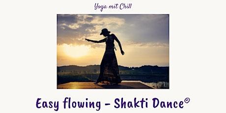 Easy flowing  mit Shakti Dance®  Yoga online (inkl. 7 Tage Aufzeichnung) Tickets